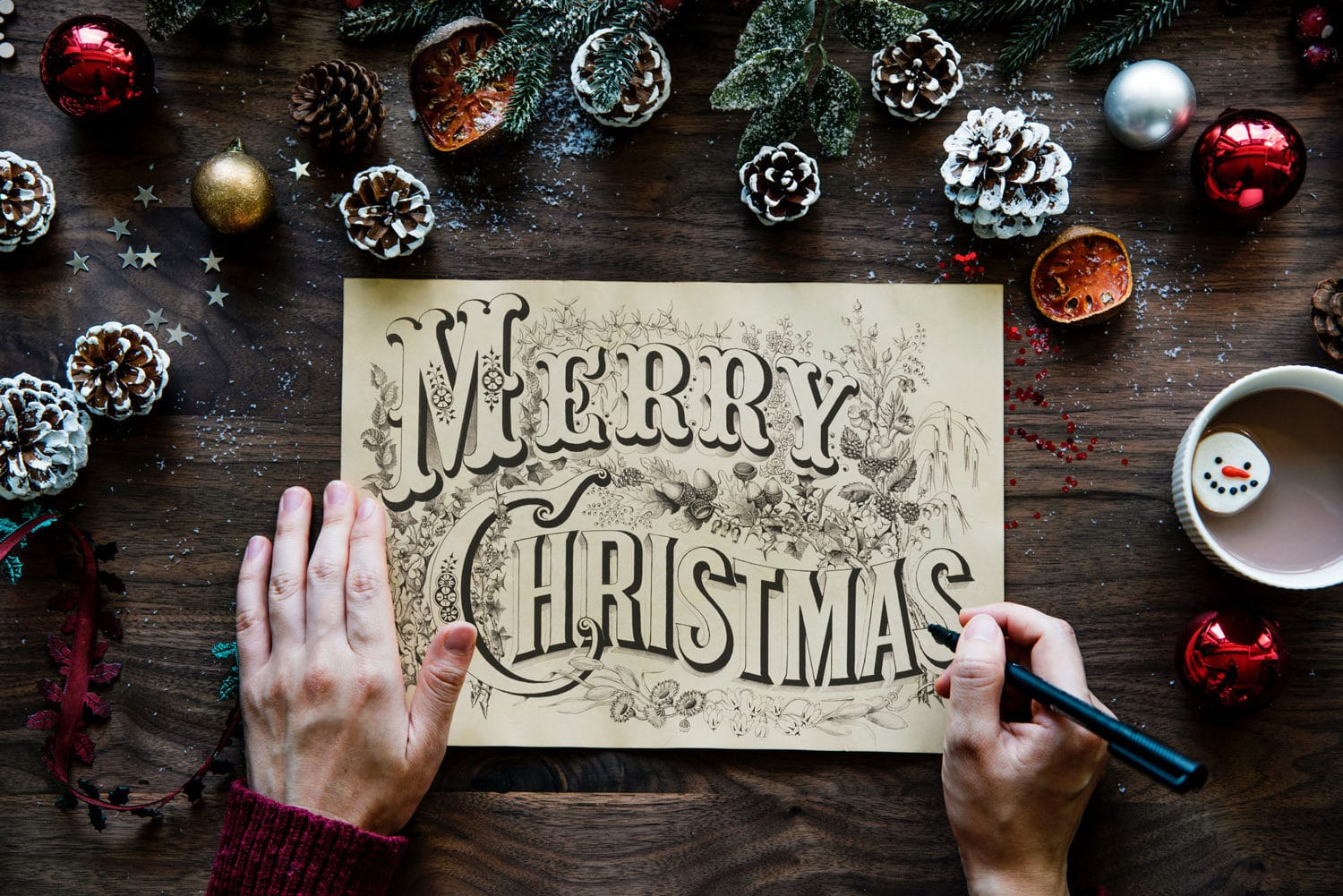 Celebrate the holidays with printed Christmas cards